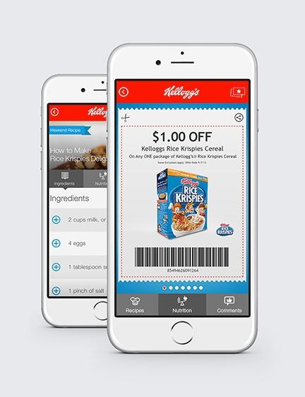 Kellogg's Mobile App