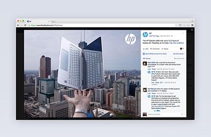 HP Social Campaigns